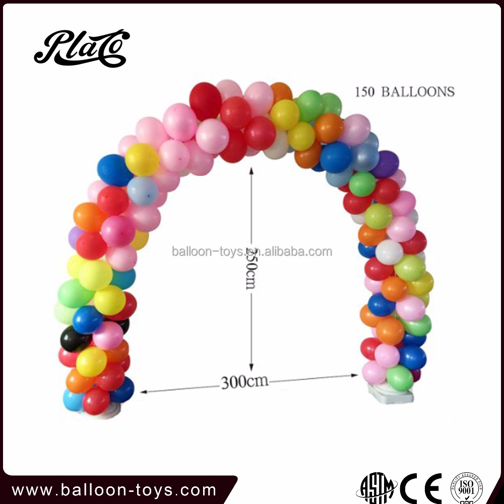 8poles stable balloon arch stand for wedding decoration
