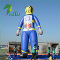 Giant Promotion Parade Floating Inflatable Fireman Balloon Cartoon