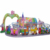 Outdoor amusement ride mini shuttle electric track train