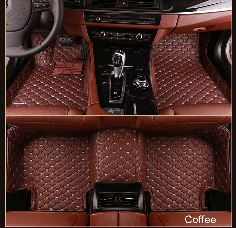 Full Set 5D Leather Material Car Floor Mat Hotsale Custom Car Mat with Best Price