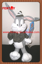 Looney tunes army military bugs bunny stuffed plush animals
