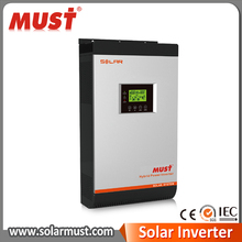 Hybrid on grid solar inverter 5kva 4kw 4000w dc48v big MPPT charger 60A hybrid solar power inverter for home solar system