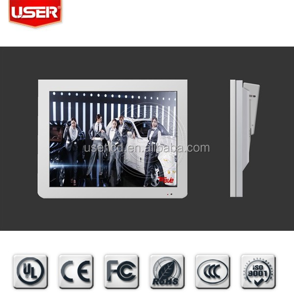 "15"" TFT Bus LCD Advertising Player"