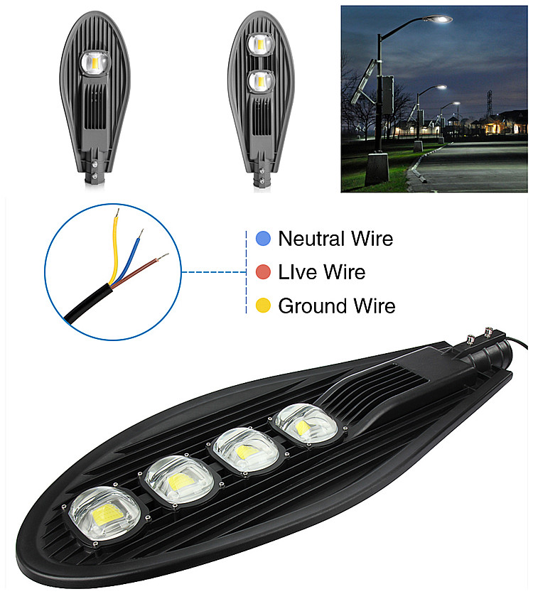 CE IES 220v Solar Led Street Lights Dubai 50w 100w 150w with 277v 120v