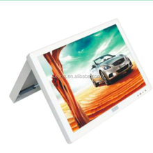 Factory price 17 inch manual back fold bus TV monitor