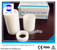 medical silk/paper/pe surgical tapes (CE/FDA/ISO)