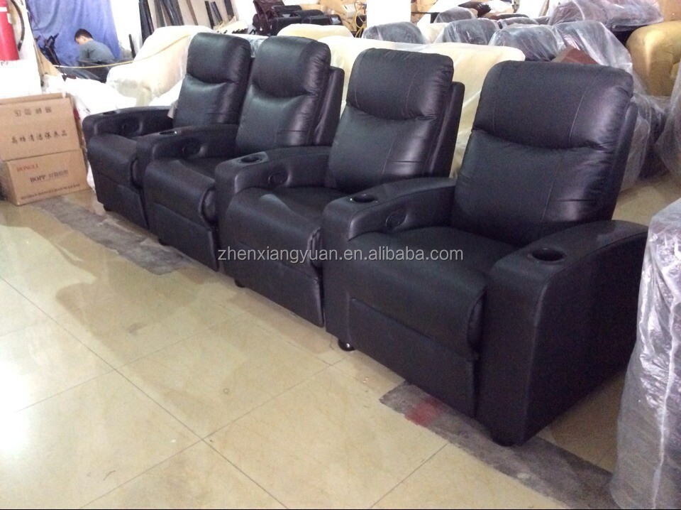 2016 Living Room Chairs Home Theater Chair With Cup