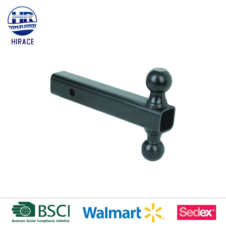 "Towing Dual Ball Mount -2""x2""Hitch Receiver"