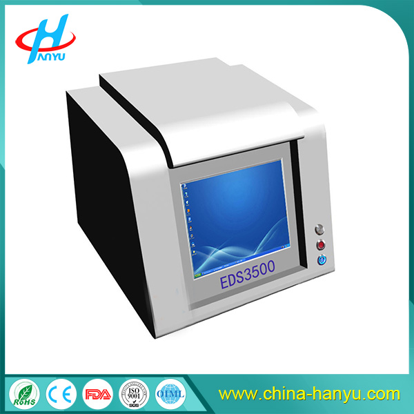 EDS3500 Xrf gold testing machine price/precious metal analyzer