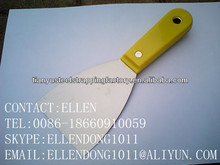 plastic handle scraper,stainless steel mirror polished putty knife
