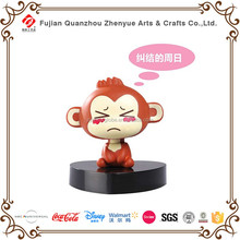 Custom Design Cute Bobble Head,Dashboard dolls of Cartoon Monkey