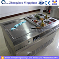 500mm pan thailand frying ice cream cold pan rolling machine malaysia