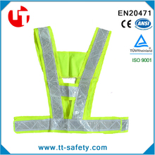EN471 traffic security vest high safety visibility reflective stripe gear