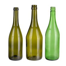 750ml Yellow Wine Bottle Champagne Glass Bottle Wholesale