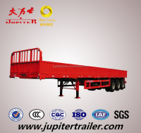 Hot Sale Chinese Trailer Supplier Cargo Side Wall Semi Trailer For Bulk Transportation