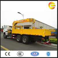 10 tons Dubai XCMG mobile crane hydraulic telescopic construction crane for sale