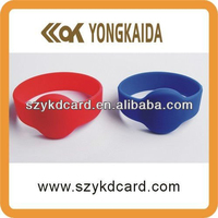 13.56Mhz HF rfid bracelet shenzhen for access control