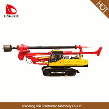 small hydraulic rotary pile driving machine crawler for sale