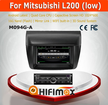 Hifimax Andriod 7.1 touch sreen car radio audio stereo Parts For Mitsubishi L200 (Low) car radio player