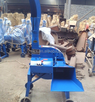 Auto-feeding agriculture motor driving chaff cutter machine
