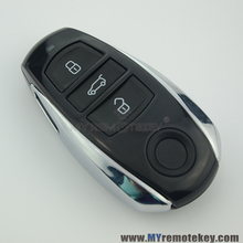 Best price Car key case with 3 button for VW Touareg smart key cover key shell