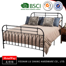 Hot Sale Wholesale comfort 2016 modern latest iron bed designs