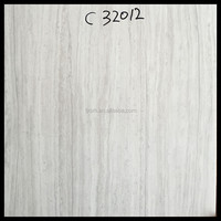 White Wood Look Porcelain Tile 16x16