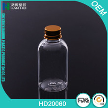 Food grade custom 60ML mini Plastic PET liquid skin spray bottle