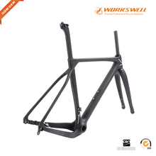 Cheap prices Full carbon fiber 700C road bicycle frame for gravel road bicycle