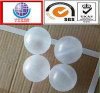 2016 professional 16.8mm 25.4mm 35.2mm 35.4mm PP hollow plastic water treatment balls