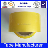 Online shopping free samples acrylic clear adhesive bopp tape for box packaging