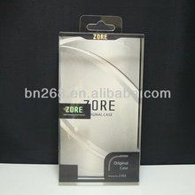 Wholesale Clear PVC plastic iphone case packaging box,case for iphone 5 packaging