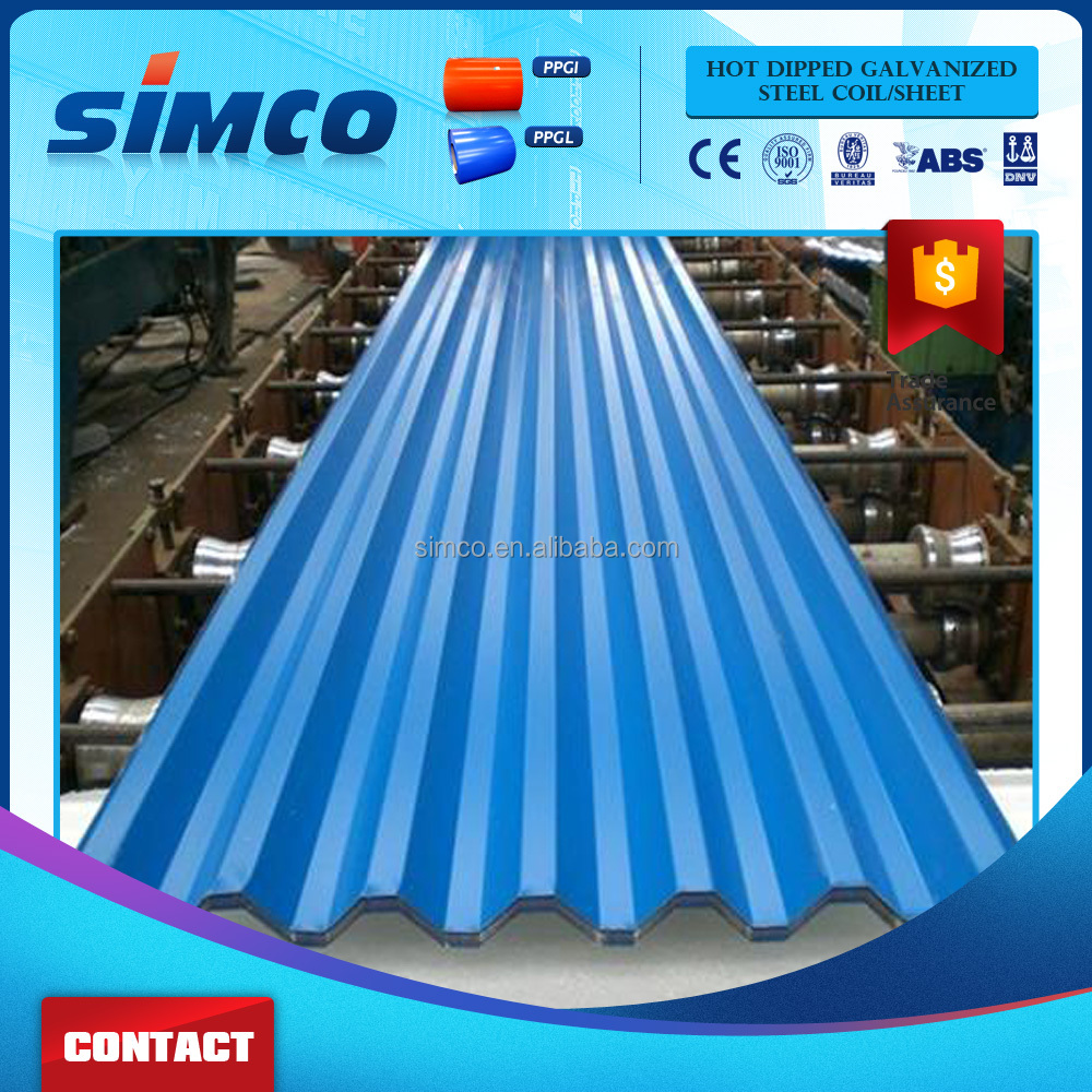 Galvanized sheet metal roofing price/ Galvalume corrugated steel sheet/zinc roofing sheet
