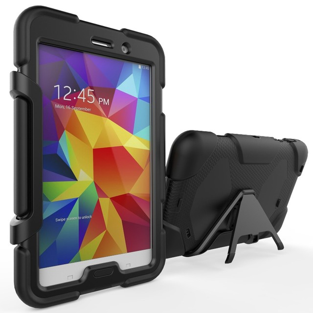 China Manufacturering PC Hard Tablet Case For Samsung GALAXY Tab 4 T230 With Kckstand Case
