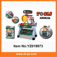 2015 New Toy Mechanic Tool Box Set,Tool And Brains Toys,Plastic Mini Toy Tools For Kids