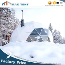 China factory direct sales winter marquee camping tent geodesic dome tent event tent hot sale