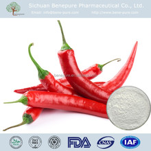 CAS No.404-86-4,Capsicum frutescens L,pain reliver,Capsaicin 98% HPLC