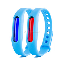 New Item Adjustable Kids Silicone Bracelet Repellent Mosquito