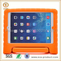 High quality silicone tablet cover case for ipad 5 with rotating stand