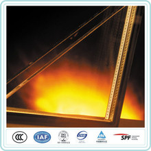best price 3-19mm thickness double glazing fireproof insulated glass door