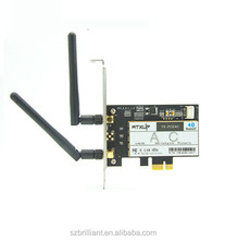8265AC PCI-E Desktop PC 802.11AC wifi 867Mbps Adapter PCi Express WiFi+Bluetooth 4.2 Wlan network card for Intel 8265