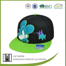 wholesale cotton embroidery custom snapback cap