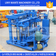 Hot sale QT40-3 Egg laying /movable low price used cement hollow brick / block making machine for sale