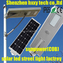 solar street lighting system led/integrated solar street light/led solar outdoor light with timer