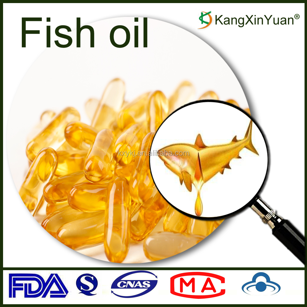 Nutritional Supplement OEM Crude Fish Oil Softgel