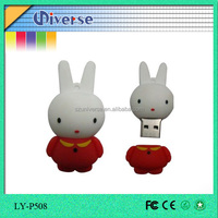 Company image advertising cartoon usb flash drive with new style
