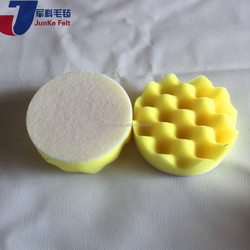 New design double-side wool polish pad/ball made in China
