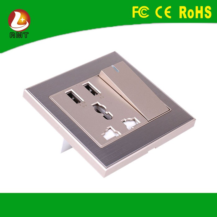 UNIVERSAL Multi-function Safety wall multiple electrical socket usb 220v outlet