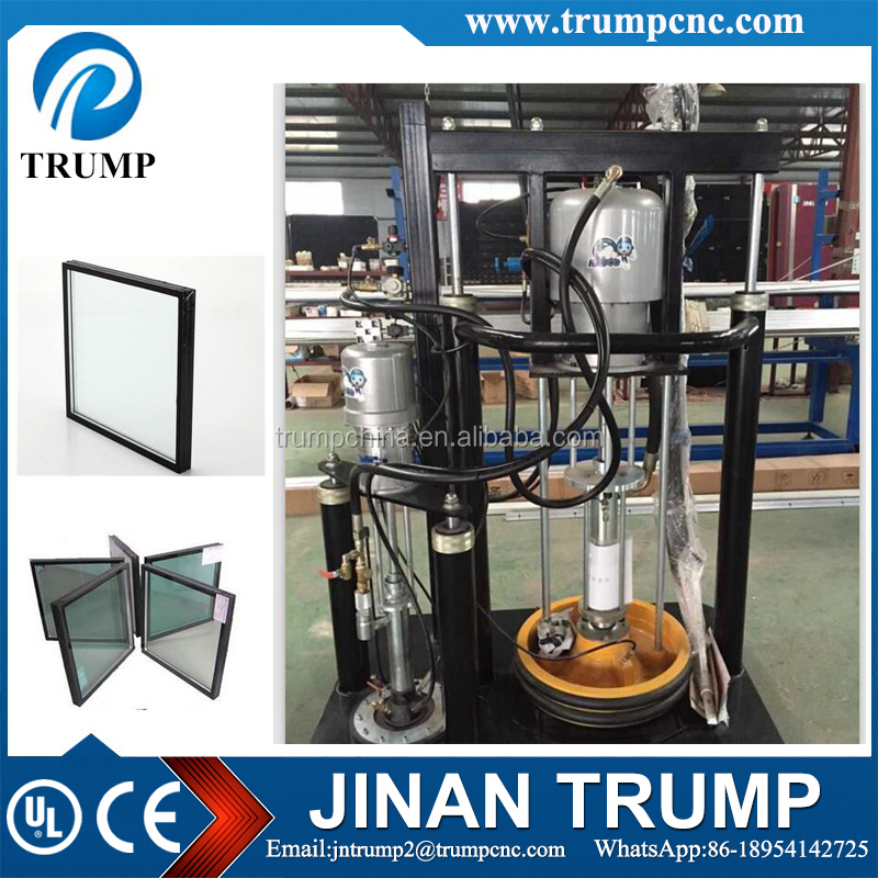 Double Glass Silicone Extruder Machine
