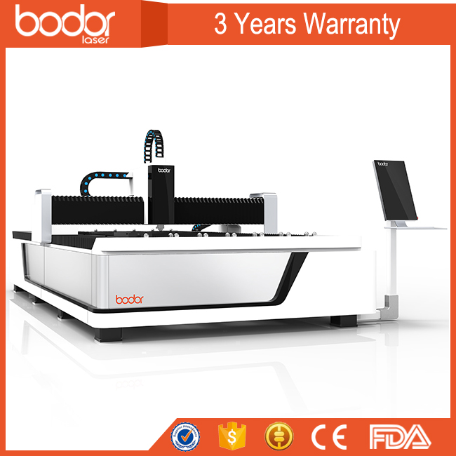 stainless steel/copper fiber laser metal cutting machine price for Metal Sheet - Stainless